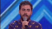 Andrea Faustini sings Try a Little Tenderness - Arena auditions Wk 1- The Xtra Factor Uk 2014