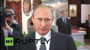 Russia: Our goal in Syria and beyond is to 'fight against terrorism' - Putin