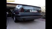 Bmw 540i E34 Exhaust