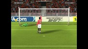 Fifa 10 penalty shoot-out.manchester United vs Manchester city