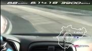 Най–новия Corvette Z06 върти обиколки в Нюрнберг