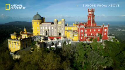 Дворецът Пена | Европа отвисоко | сезон 3 | National Geographic Bulgaria