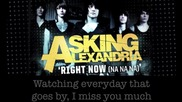 Asking Alexandria - Right Now (na Na Na) (cover)