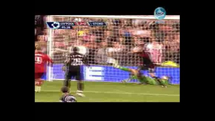 Liverpool 2 - 0 Stoke City Johnson
