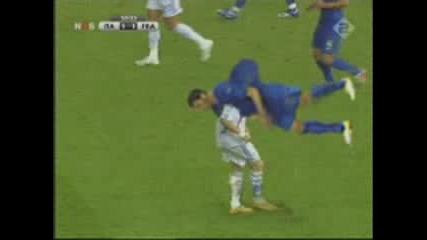 Zidane vs Materrazi пародия