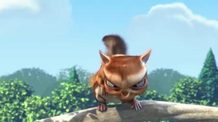Големият смел заек - яка анимация