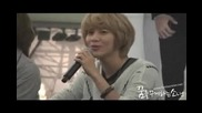 101024 Taemin lipsynched Love still goes on fancam H3ll0 fansign