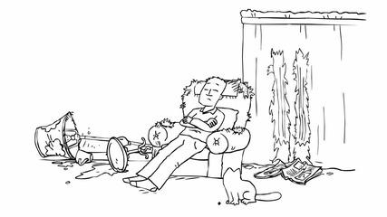 Котката на Саймън - Мухата - Hd