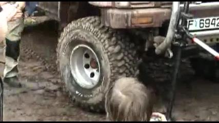 Надуване на гума за няколко секунди!