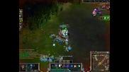 League of Legends - Tundra Hunter Warwick and Shockblade Zed еп.2