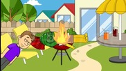 Bowser Junior Breaks The New Grill-grounded