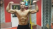 Последно упражнение с цел напомпване на гърба