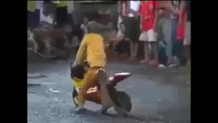 Маймунка кара моторетка