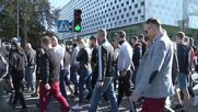 Poland: Nationalist protesters stage 'March of Normality' in Bialystok