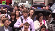 Tube strike wreaks havoc on commuters in London