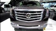2015 Cadillac Escalade Esv 4wd Premium - Exterior, Interior Walkaround - 2014 New York Auto Show