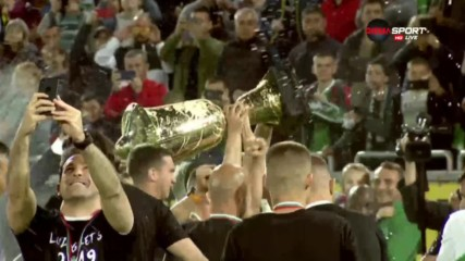Лудогорец вдигна шампионското отличие за сезон 2018/2019