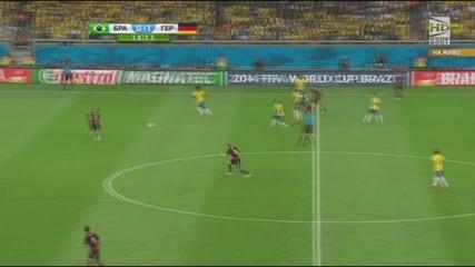 Световно първенство по футбол 2014 Бразилия - Германия - Първо полувреме Част 3/5