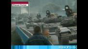 Руската Армия влиза в Южна Осетия - Алания