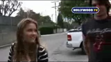 Miley Cyrus Talks With Hollywood