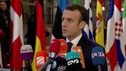 Belgium: Macron offers condolences after 'tragic' Strasbourg attack