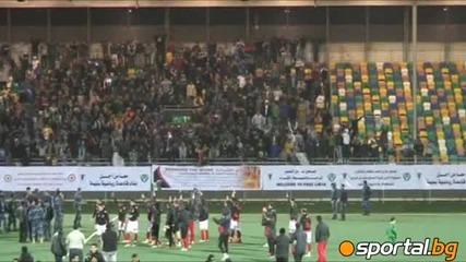 Цска поздравява либийските фенове
