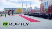 Germany: Merkel welcomes Bolivian President Morales with full military honours