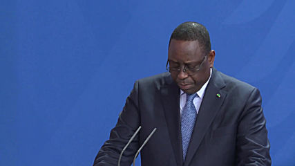 Germany: Merkel hosts Senegalese president to boost co-operation