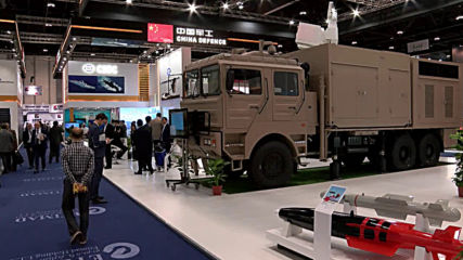 UAE: China displays mobile 'Silent Hunter' laser at IDEX