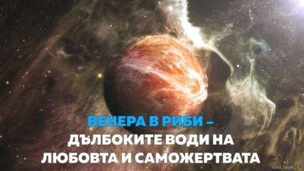 Венера в Риби – дълбоките води на любовта и саможертвата
