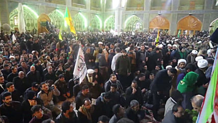 Iraq: Thousands mourn Soleimani and al-Muhandis as bodies arrive in Najaf