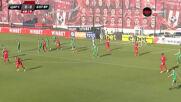 Категоричната победа на Ботев Враца срещу Царско село остави тима в елита