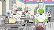 Ugly Americans Сезон 3 Епизод 3 - The Roast of Twayne the Boneraper