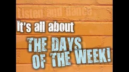 Days of the Week Rap Back - Jack Hartmann song