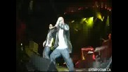 Danny Fernandes & Caspian perform at the Akon show at Gm Place - Sdk