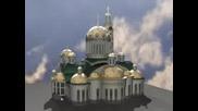 макет на православен храм