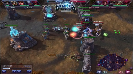 Heroes of the Storm - Raynor fail