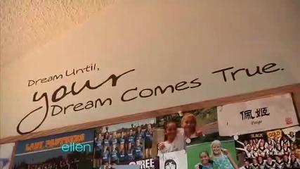 Джъстин Бийбър изненадва фенка в шоуто на Ellen