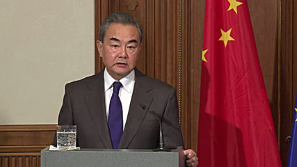 Germany: 'Viruses know no national borders' - Chinese FM Wang alongside counterpart Maas