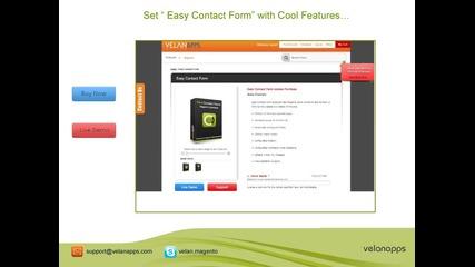 Magento Contact Form Extension - Store.velanapps.com