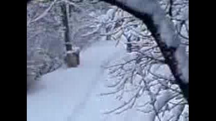 Сняг,лед,скутер (смях)