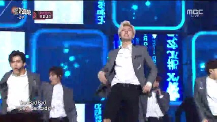 151231 160101 Infinite - Bad (remix) @ Mbc Gayo Daejejun