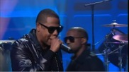 Rihanna, Jay - Z и Kanye West - Run This Town на живо при Jay Leno