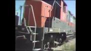 Неподдържани влакови релси