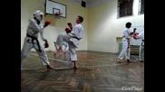 клуб Будошин (карате шотокан ) спаринг