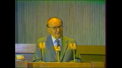 Тодор Живков Последното политическо изявление през 1989