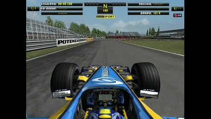 F1 2006 Montreal hotlap 1.17.693
