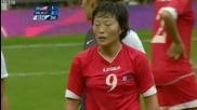 Женски футбол- Сащ- Северна Корея 1:0, Олимпийски игри Лондон 2012