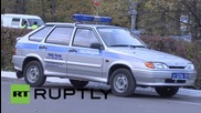 Russia: Krasnogorsk double shooting site secured by police