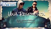 Una Respuesta - Daddy Yankee Ft. J Alvarez (video Letra) Com